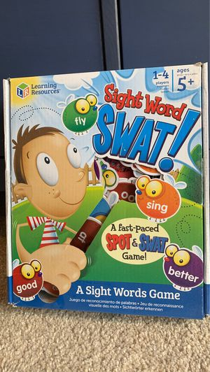 Sight word swat game for kids for Sale in Everett, WA