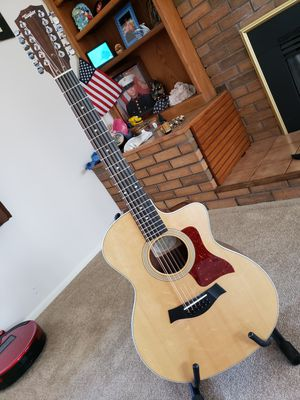 Taylor 254ce DLX 12-string Acoustic Electric guitar for Sale in Sterling, VA