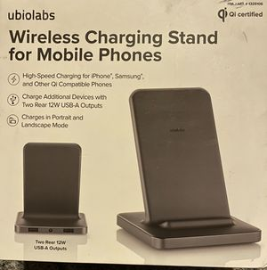 Ubio Labs Wireless Charging Stand for Mobile Phones for Sale in Fresno, CA