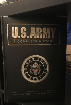 ARMY HISTORY BOOK for Sale in Oakland, CA