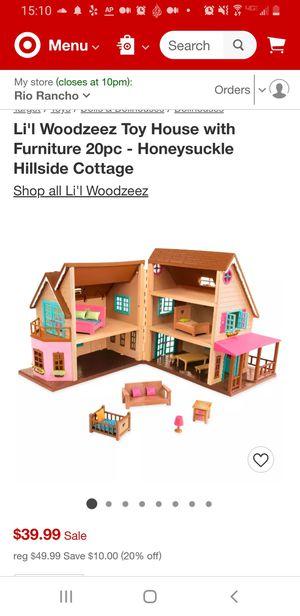 Lil Woodzeez House w/ Furniture for Sale in LOS RNCHS ABQ, NM