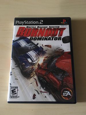 PS2 Burnout Dominator for Sale in East Wenatchee, WA