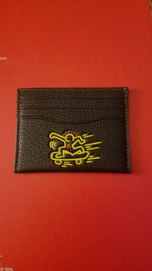 Coach x Keith haring wallet card holder for Sale in Santa Monica, CA