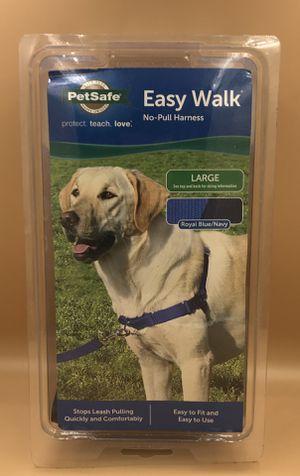PetSafe Easy Walk Harness, Large-Blue for Sale in Las Vegas, NV