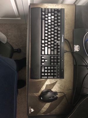 Corsair Gaming Mouse/Keyboard/headset combo for Sale in Bristow, VA