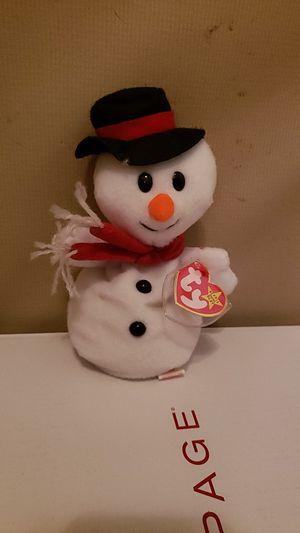 Snowball ( snowman beanie baby) for Sale in East Wenatchee, WA