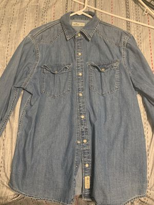 Men's hollister button up shirt for Sale in Fresno, CA