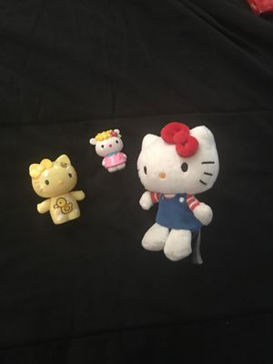 Hello kitty toys for Sale in Fresno, CA