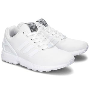 🆕 adidas Originals Women's ZX Flux Running Shoes, FTWR White - Size 9 (BB2262) for Sale in North Andover, MA