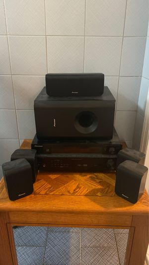 Pioneer Surround Sound System SX-217 for Sale in Queens, NY