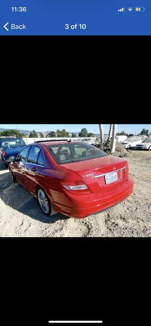 W204 2009 C300 PART OUT 6spd MANUAL C350 2008 2010 for Sale in Pleasant Grove, CA