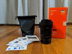 Sony Zeiss 55mm f1.8 Lens for Sale in El Monte, CA