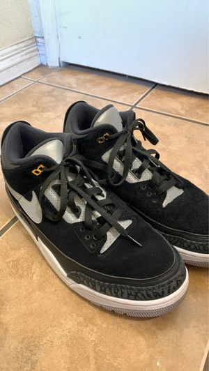 Nike air Jordan 4's black, gray and white for Sale in Azusa, CA