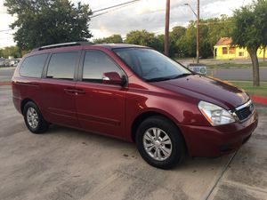 2012 KIA SEDONA LX MINI VAN 3RD ROW SEAT for Sale in San Antonio, TX