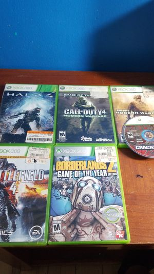 Xbox 360 games for Sale in Charlotte, NC