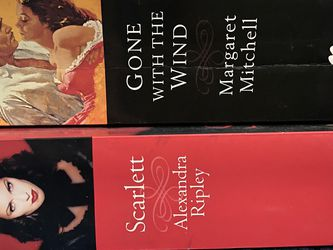 Gone With The Wind And Scarlett Books for Sale in Cupertino,  CA