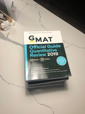 GMAT Prep Bundle for Sale in Irving, TX