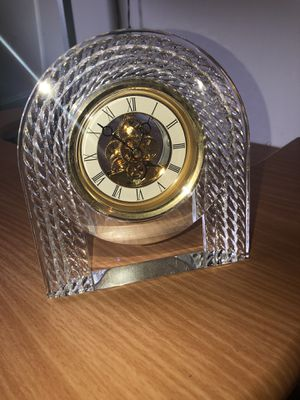 Crystal antique clock for Sale in Lake Elsinore, CA