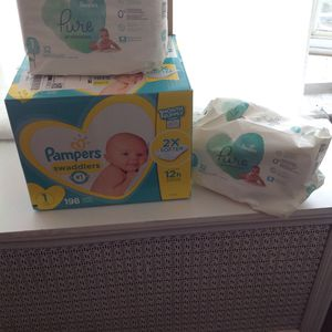 Diapers Size 1 for Sale in Philadelphia, PA