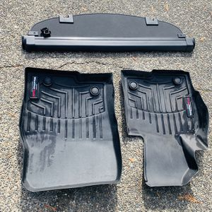 2013-2016 Mazda CX-5 Cargo cover & Weather mats for Sale in Bonney Lake, WA
