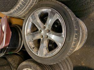 2011 Dodge Charger Chrome Rims for Sale in Elizabeth, NJ