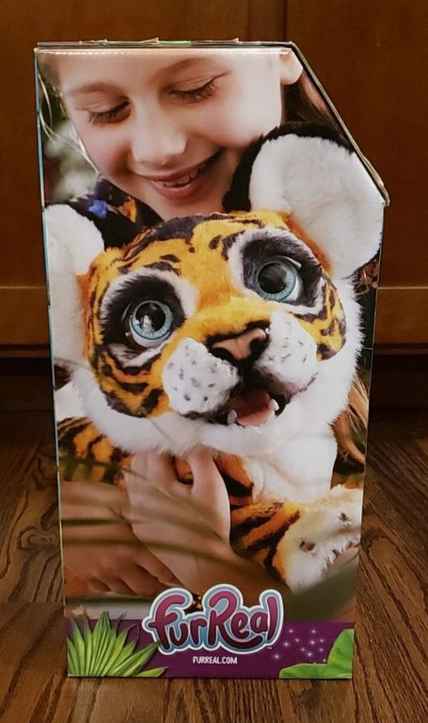 NEW FurReal Friend Interactive Roaring Tyler Tiger