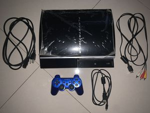 PlayStation 3 and 1 controller with 9 games for Sale in Miami, FL