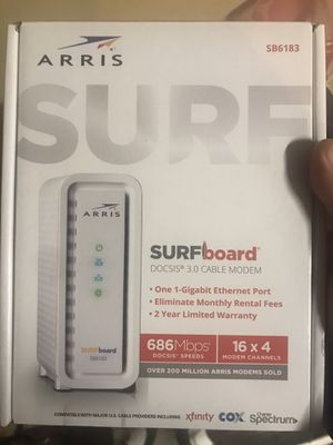 Arris 3.0, 686Mbps, cable modem for Sale in Overland Park, KS