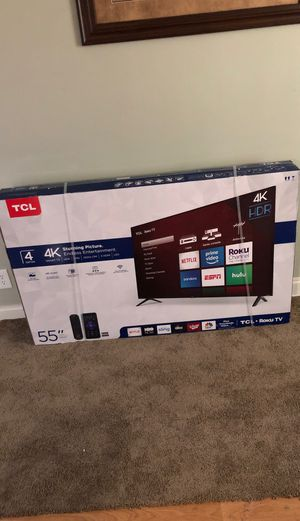 "TCL 55"" Roku TV 4K ! BRAND NEW NEVER OPENED for Sale in Alexandria, VA"
