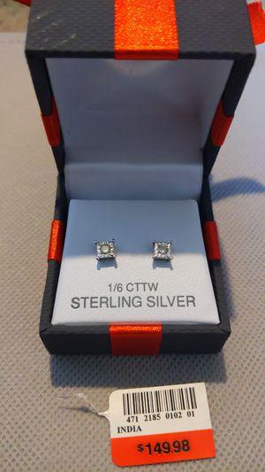 Disney Enchanted 1/6 CTTW diamond earrings for Sale in Columbia, SC