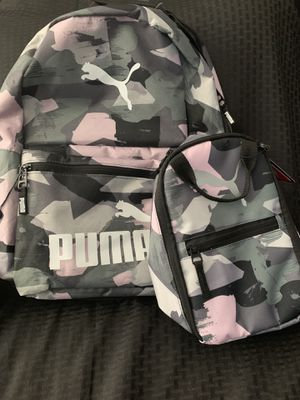 Puma Backpack and Lunch Tote for Sale in Anaheim, CA