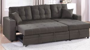 Sofa convertible storage mini sectional for Sale in Fresno, CA