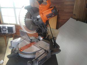 Ridgid miter saw for Sale in Odessa, TX