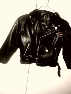 Kids Harley Davidson Leather Motorcycle Jacket for Sale in Evergreen, CO