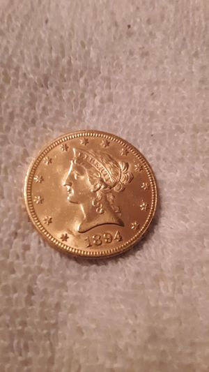 1894 GOLD $10 LIBERTY HEAD COIN B/U for Sale in Fresno, CA