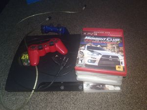 PS3 with 12 games for Sale in Philadelphia, PA