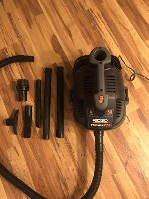 Rigid power tool shop vac vacuum w/ silencer for Sale in Seattle, WA
