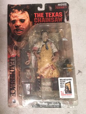McFarlane Leatherface Movie Maniacs Figure for Sale in Redford Charter Township, MI
