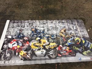 Yamaha 50th anniversary banner**RARE for Sale in New Port Richey, FL