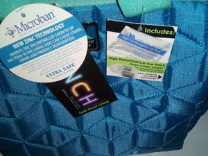 Lunch bag with storage and icepack for Sale in Ivor, VA