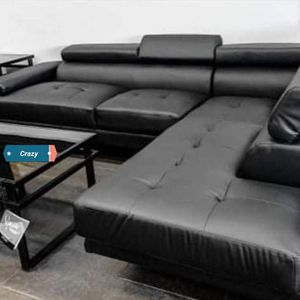 💎💎Antares Black Modern Sectional for Sale in Reisterstown, MD