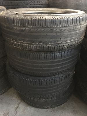 225/55/19 Michelin Premier for Sale in Chicago Heights, IL