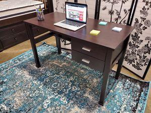 Primo Computer Desk, Espresso for Sale in Santa Ana, CA