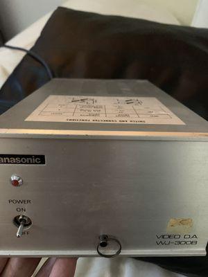 Panasonic Video Distribution Amplifier model WJ 3008 for Sale in Phoenix, AZ