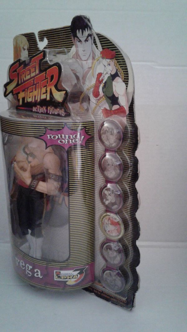Collectible Street Fighters VEGA