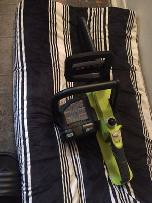 Ryobi Chainsaw 18 v for Sale in Washington, DC