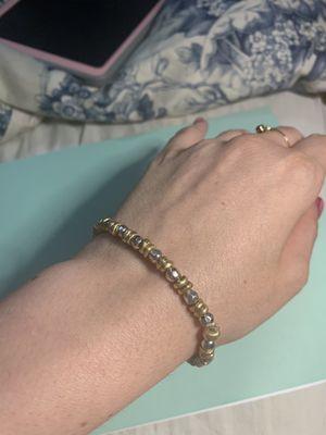 Silver brass bracelet for Sale in Fresno, CA