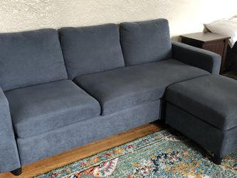 Couch With Ottoman for Sale in Brooklyn,  NY