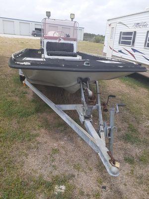 Pro glass center console boat for Sale in San Antonio, TX
