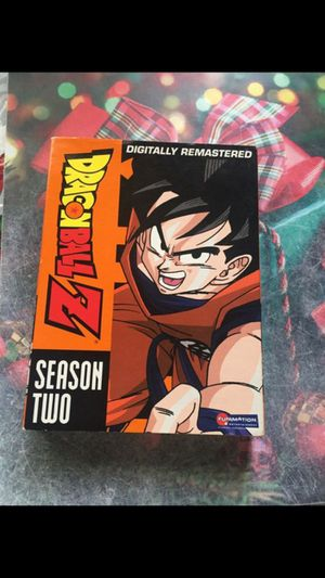 Dragon ball z season two dvd for Sale in Tustin, CA
